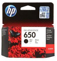650 fekete (CZ101AE) HP eredeti tintapatron