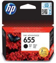 655 fekete (CZ109AE) HP eredeti tintapatron