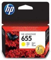 655 Y (CZ112AE) HP eredeti tintapatron