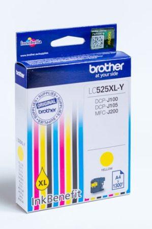 BROTHER LC525XL YELLOW EREDETI TINTAPATRON