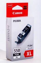 PGI-550XL fekete eredeti Canon tintapatron