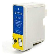 T038 fekete uttángyártott tintapatron