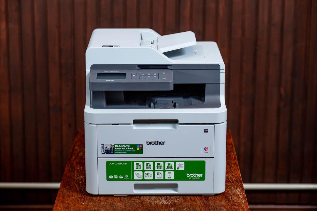 Brother L3550CDW színes LED nyomtató és szkenner