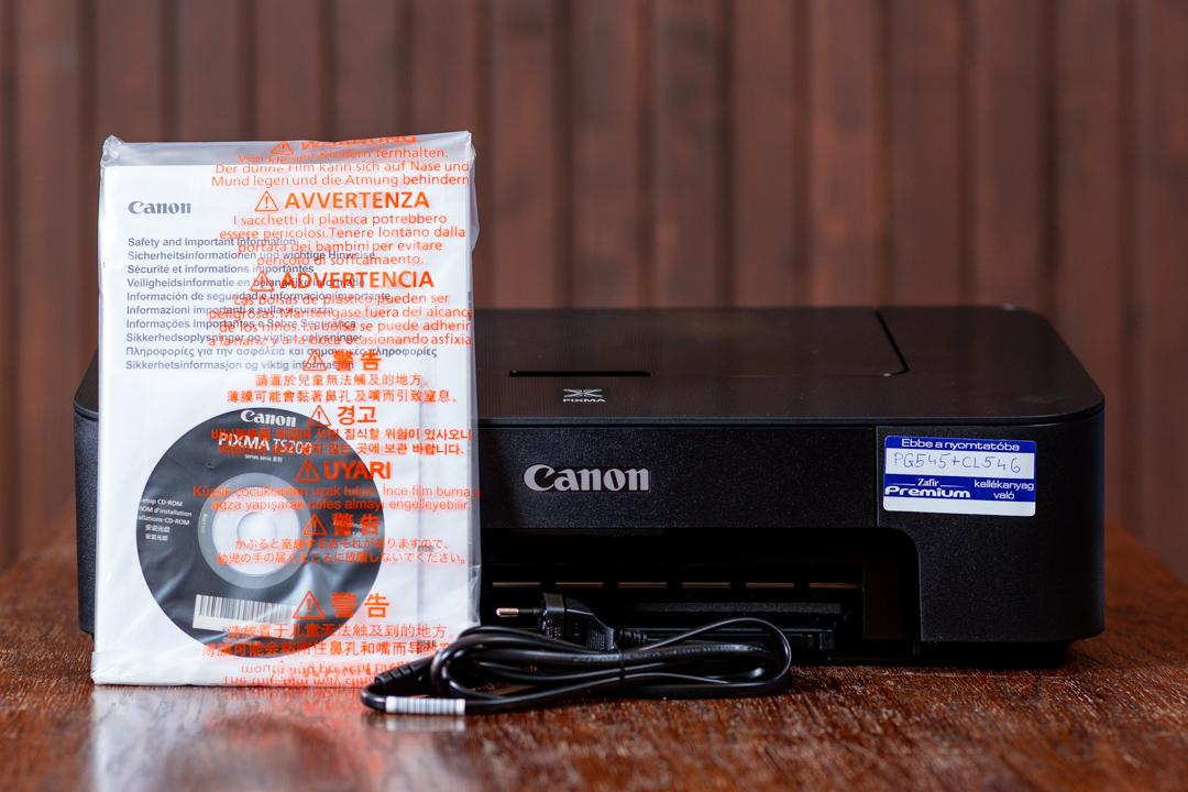 Canon TS205 olcsó színes nyomtató tartozékok