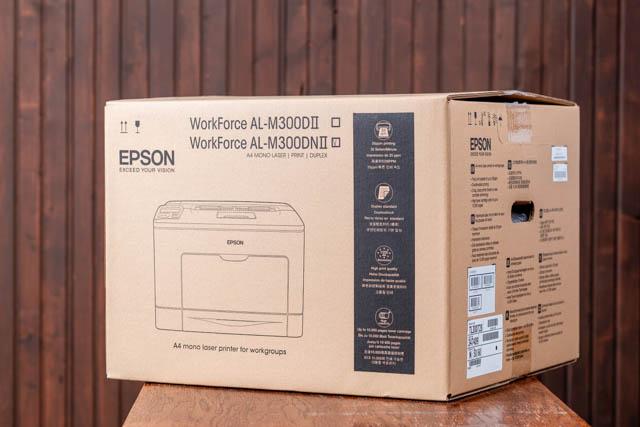 Epson M300 ultratakarékos nyomtató doboza