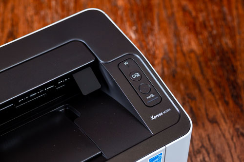 A Samsung M2026 olcsó lézernyomtató kezelőpanele