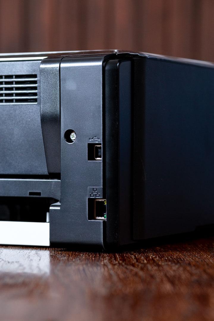 Ricoh SP220Nw olcsó irodai nyomtató csatlakozók