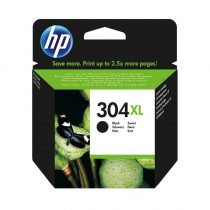 304XL Bk (NO.N9K08AE) HP eredeti tintapatron