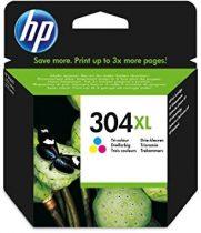 304XL Color (NO.N9K07AE) HP eredeti tintapatron