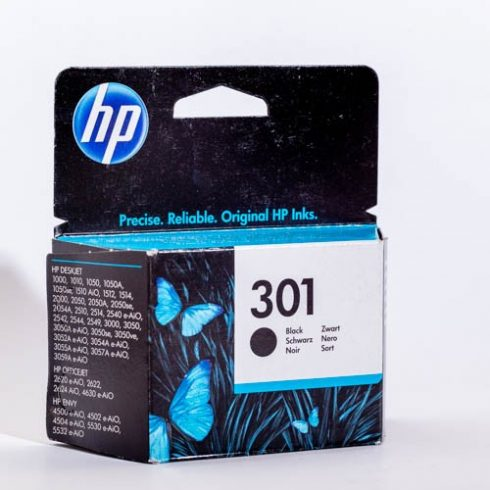 301 (CH561EE) FEKETE EREDETI HP PATRON