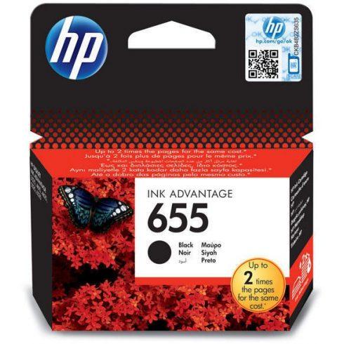 655 BLACK (CZ109AE) HP EREDETI TINTAPATRON