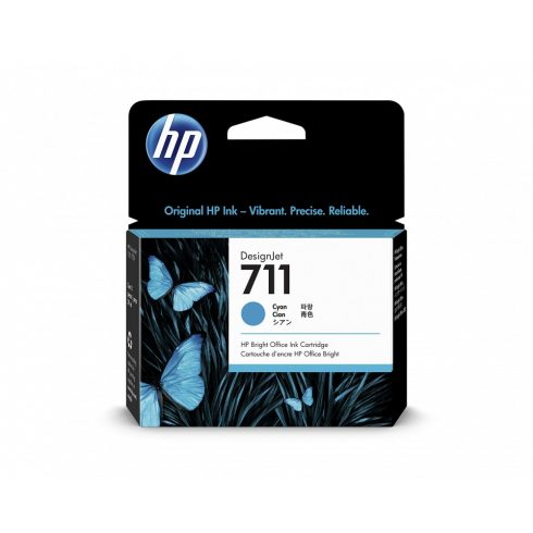 711 CYAN (CZ130A ) HP EREDETI TINTAPATRON