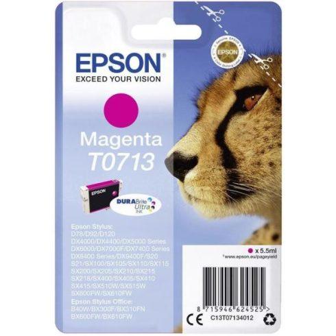 T0713 MAGENTA 5,5ML LEJÁRT EREDETI EPSON TINTAPATRON