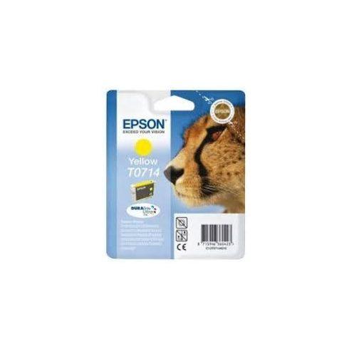 T0714 YELLOW 5,5ML EREDETI EPSON TINTAPATRON