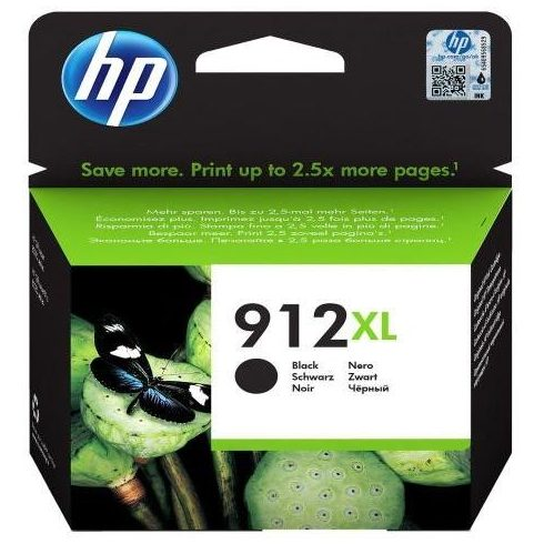 912XL BLACK (3YL84AE) HP EREDETI TINTAPATRON