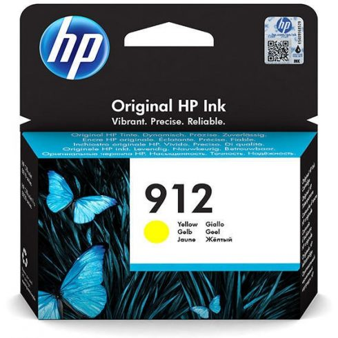 912 YELLOW (3YL79AE) HP EREDETI TINTAPATRON