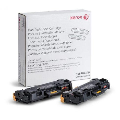 B205/B210/B215 2x3K (106R04349) EREDETI XEROX TONER