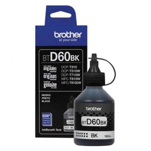 BT-D60 BLACK 6.5K (DCP-T300,DCP-T500W) EREDETI BROTHER TINTA