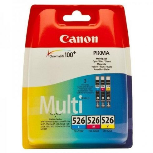 CLI-526 CMY (4541B009) COLOR PACK CANON PATRON