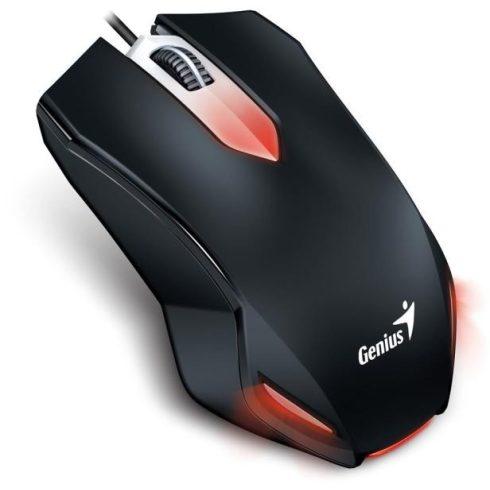 GENIUS EGÉR X-G200 (VEZETÉKES, USB, 1000DPI, 6 GOMB, FEKETE)