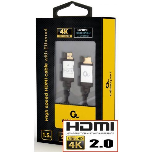 HDMI 2.0 KÁBEL 4K UHD ARANYOZOTT 1.5M