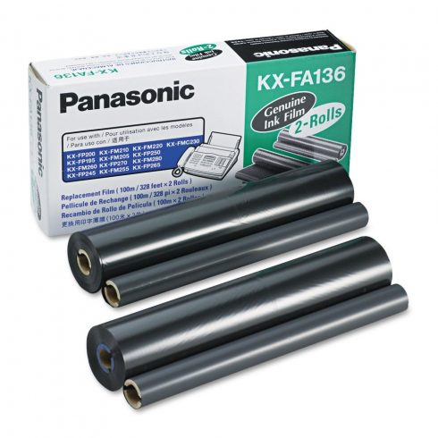 KX-FA136A Eredeti Panasonic 2 DB (2IN1) Festékszalag