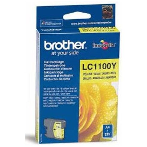 LC1100 YELLOW LEÉRTÉKELT EREDETI BROTHER TINTAPATRON