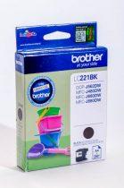 BROTHER LC221 FEKETE EREDETI TINTAPATRON