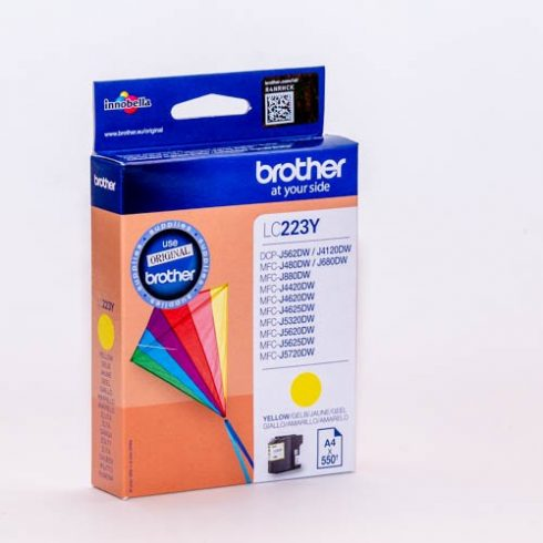 BROTHER LC223 YELLOW EREDETI TINTAPATRON