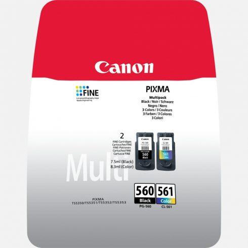 PG-560XL/CL-561XL CANON EREDETI PATRON MULTIPACK XL + 50DB 10x15CM FOTÓPAPÍR