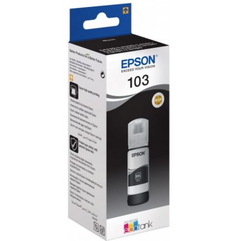 T00S1 (C13T00S14A) NO.103 BLACK 65ML EREDETI EPSON TINTAPATRON