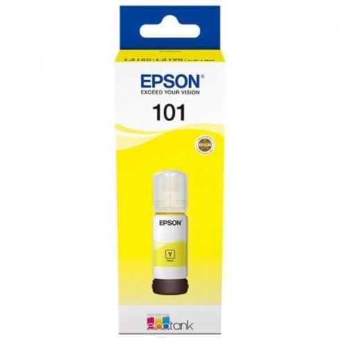 T03V44 (C13T03V44A) No.101 YELLOW 70ML EREDETI EPSON TINTAPATRON