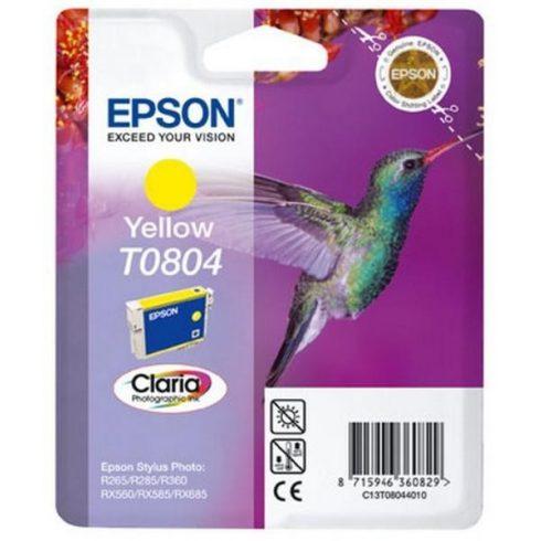 T0804 YELLOW EREDETI EPSON PATRON