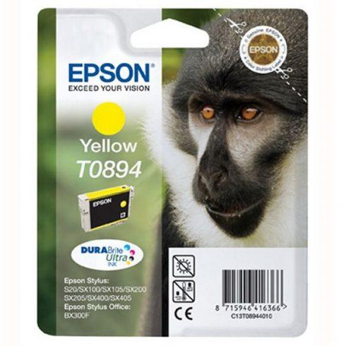 T0894 (C13T08944011) YELLOW EPSON EREDETI TINTAPATRON