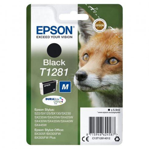 T1281 BLACK 5,9ML EREDETI EPSON TINTAPATRON