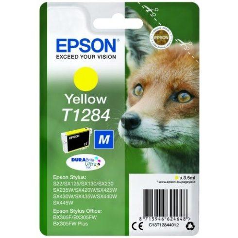 T1284 YELLOW 3,5ML EREDETI EPSON TINTAPATRON