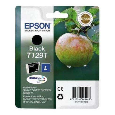 T1291 (C13T12914012) FEKETE EPSON EREDETI  TINTAPATRON