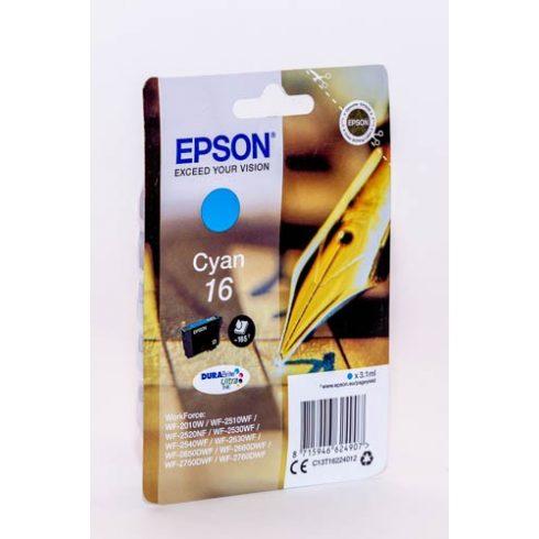 T1622 (C13T16224010) CYAN EPSON EREDETI TINTAPATRON