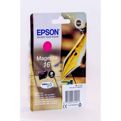 T1623 (C13T16234010) MAGENTA EPSON EREDETI TINTAPATRON