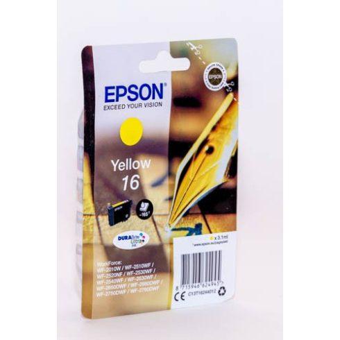T1624 (C13T16244010) YELLOW EPSON EREDETI TINTAPATRON