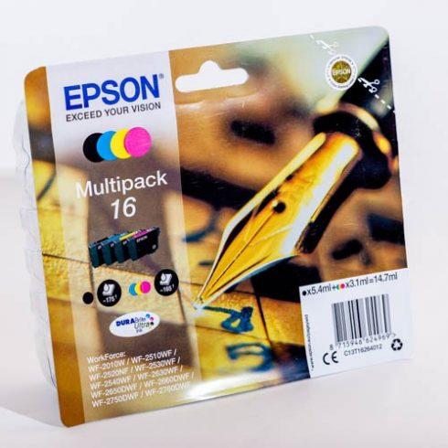 T1626 (C13T16264012) EPSON EREDETI TINTAPATRONSZETT (BCMY)