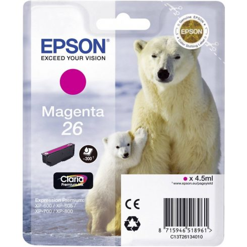 T2613 (C13T26134012) MAGENTA EPSON EREDETI TINTAPATRON