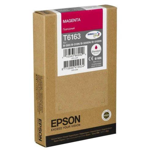 T6163 MAGENTA EREDETI EPSON TINTAPATRON 53 ML