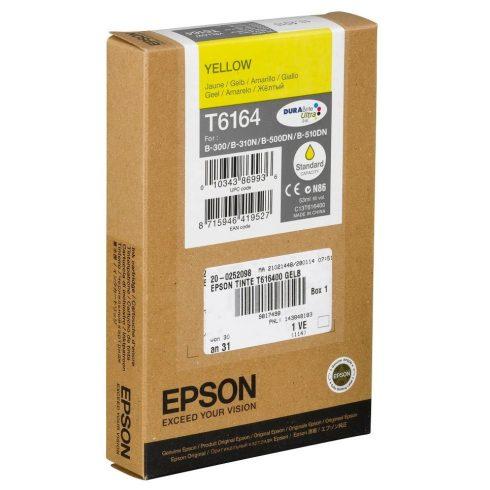 T6164 YELLOW EREDETI EPSON TINTAPATRON 53 ML