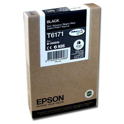 T6171 BLACK EREDETI EPSON TINTAPATRON 100 ML