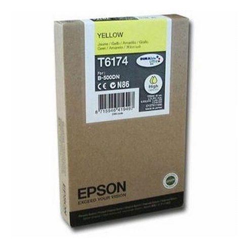T6174 YELLOW EREDETI EPSON TINTAPATRON 100ML