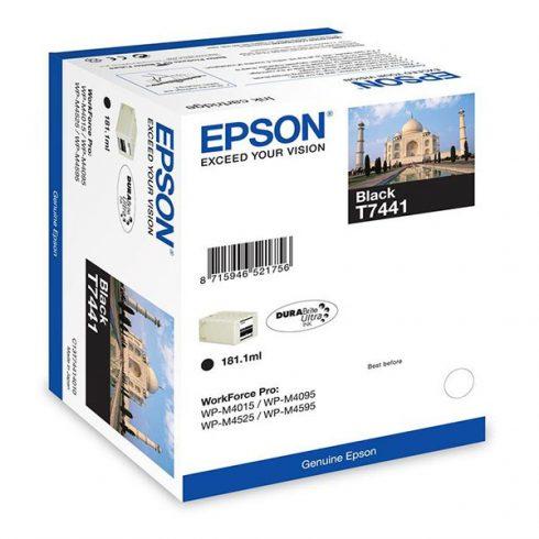 T7441 BK 10K EREDETI EPSON TINTAPATRON