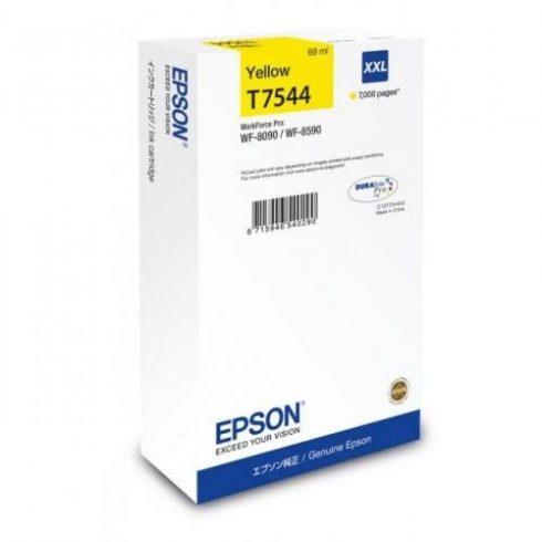 T7544 Y EREDETI EPSON TINTAPATRON