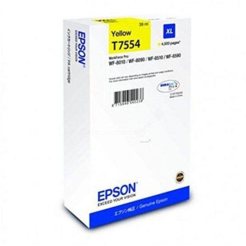 T7554 Y EREDETI EPSON TINTAPATRON