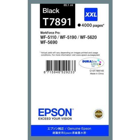 T7891 BK XXL EREDETI EPSON TINTAPATRON